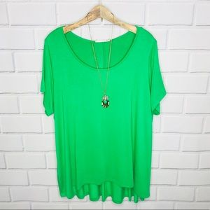 Philosophy plus size tunic top